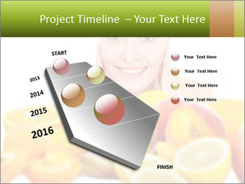 Natural homemade fruit PowerPoint Template - Slide 26