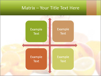 Natural homemade fruit PowerPoint Template - Slide 37