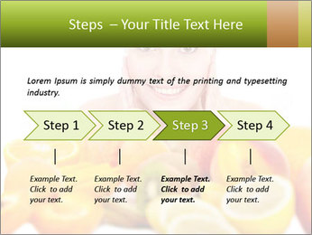 Natural homemade fruit PowerPoint Templates - Slide 4