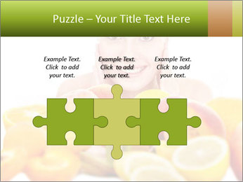 Natural homemade fruit PowerPoint Template - Slide 42