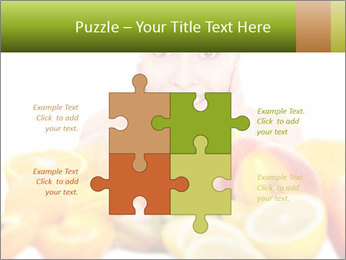 Natural homemade fruit PowerPoint Template - Slide 43