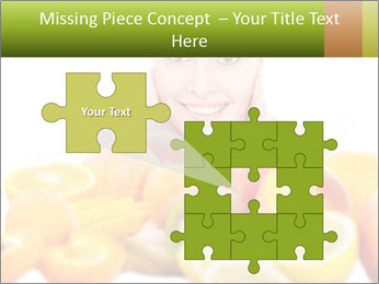 Natural homemade fruit PowerPoint Template - Slide 45