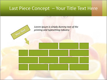 Natural homemade fruit PowerPoint Template - Slide 46