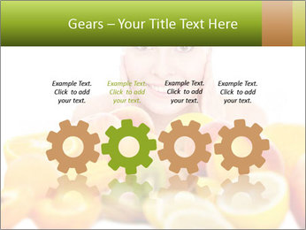 Natural homemade fruit PowerPoint Template - Slide 48