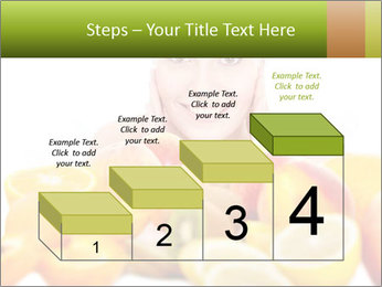 Natural homemade fruit PowerPoint Template - Slide 64