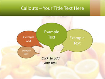 Natural homemade fruit PowerPoint Template - Slide 73