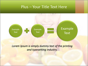 Natural homemade fruit PowerPoint Template - Slide 75