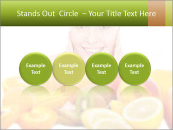 Natural homemade fruit PowerPoint Template - Slide 76