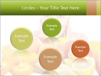 Natural homemade fruit PowerPoint Template - Slide 77