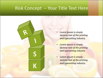 Natural homemade fruit PowerPoint Template - Slide 81