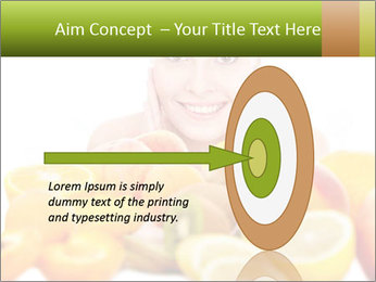 Natural homemade fruit PowerPoint Template - Slide 83