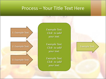 Natural homemade fruit PowerPoint Template - Slide 85