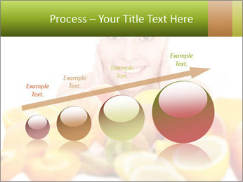Natural homemade fruit PowerPoint Template - Slide 87