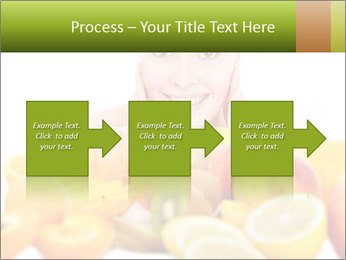 Natural homemade fruit PowerPoint Template - Slide 88