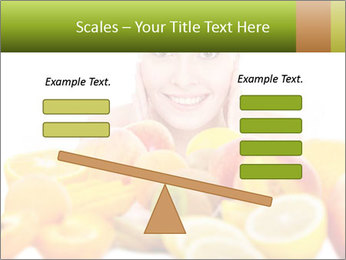Natural homemade fruit PowerPoint Template - Slide 89