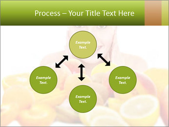 Natural homemade fruit PowerPoint Template - Slide 91