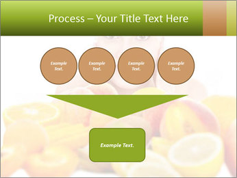 Natural homemade fruit PowerPoint Template - Slide 93