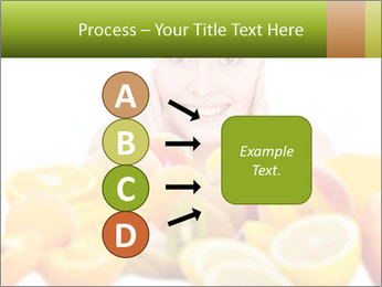 Natural homemade fruit PowerPoint Template - Slide 94