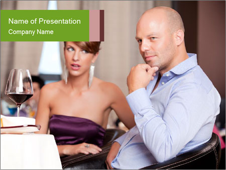 Man thinking PowerPoint Templates