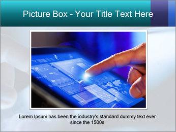 Closeup of finger PowerPoint Templates - Slide 15