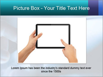 Closeup of finger PowerPoint Templates - Slide 16