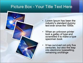 Closeup of finger PowerPoint Templates - Slide 17