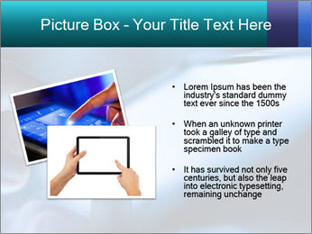 Closeup of finger PowerPoint Templates - Slide 20