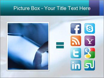 Closeup of finger PowerPoint Templates - Slide 21