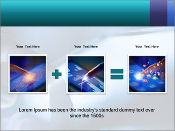 Closeup of finger PowerPoint Templates - Slide 22