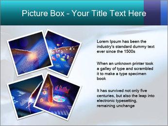 Closeup of finger PowerPoint Templates - Slide 23