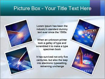 Closeup of finger PowerPoint Templates - Slide 24