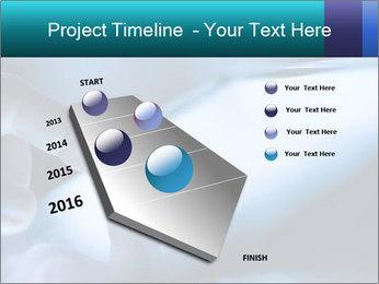 Closeup of finger PowerPoint Templates - Slide 26