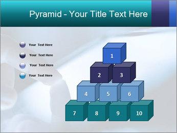 Closeup of finger PowerPoint Templates - Slide 31
