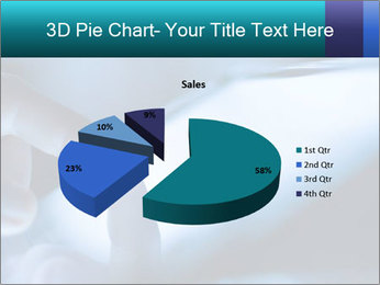 Closeup of finger PowerPoint Templates - Slide 35