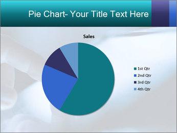 Closeup of finger PowerPoint Templates - Slide 36