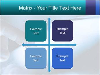 Closeup of finger PowerPoint Templates - Slide 37