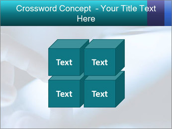 Closeup of finger PowerPoint Templates - Slide 39