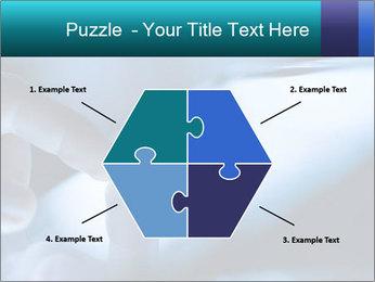 Closeup of finger PowerPoint Templates - Slide 40