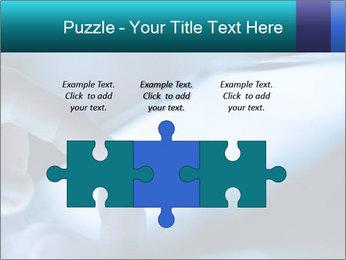 Closeup of finger PowerPoint Templates - Slide 42