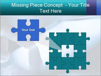 Closeup of finger PowerPoint Templates - Slide 45
