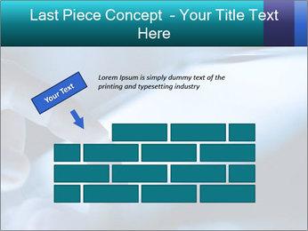 Closeup of finger PowerPoint Templates - Slide 46