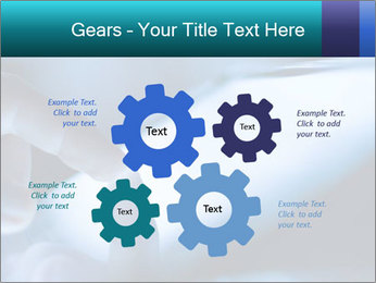 Closeup of finger PowerPoint Templates - Slide 47