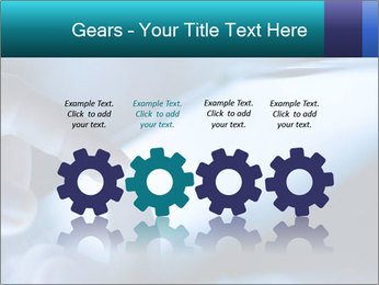 Closeup of finger PowerPoint Templates - Slide 48