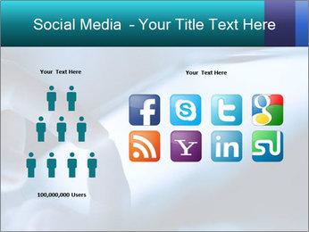 Closeup of finger PowerPoint Templates - Slide 5