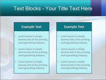 Closeup of finger PowerPoint Templates - Slide 57
