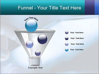 Closeup of finger PowerPoint Templates - Slide 63