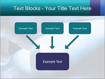 Closeup of finger PowerPoint Templates - Slide 70