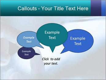Closeup of finger PowerPoint Templates - Slide 73