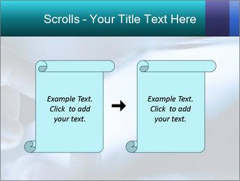 Closeup of finger PowerPoint Templates - Slide 74
