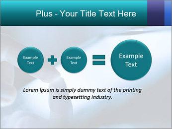 Closeup of finger PowerPoint Templates - Slide 75